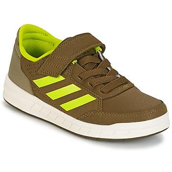 Zapatos Niño Zapatillas bajas adidas Performance ALTASPORT EL K Kaki / Amarillo
