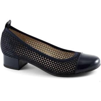 Zapatos Mujer Bailarinas-manoletinas Pregunta PRE-E17-PO21656-BL Blu
