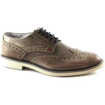 Zapatos Hombre Richelieu Café Noir CAF-E17-RB112-273 Beige