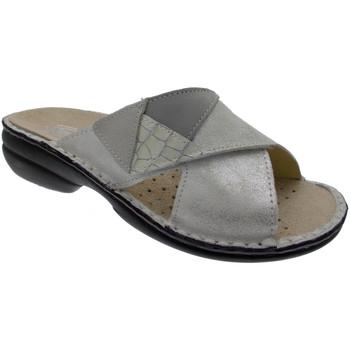 Zapatos Mujer Zuecos (Mules) Loren LOM2657bi bianco