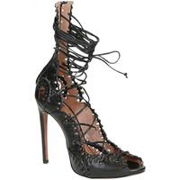 Zapatos Mujer Sandalias Alaa 4S3X524CB23 nero