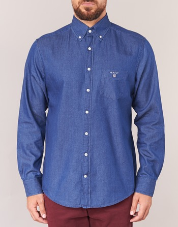 Gant THE INDIGO SHIRT Azul