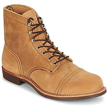 Zapatos Hombre Botas de caña baja Red Wing IRON RANGER Camel