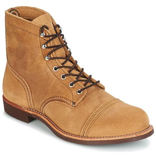 Zapatos especiales para hombres y mujeres Red Wing IRON RANGER Camel