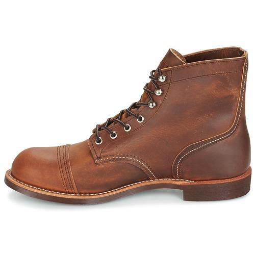 Zapatos especiales para hombres y mujeres Red Wing IRON RANGER Marrón