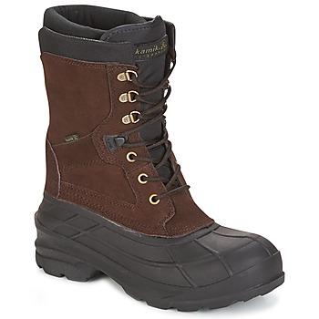 Zapatos Hombre Botas de nieve KAMIK NATION PLUS Marrón