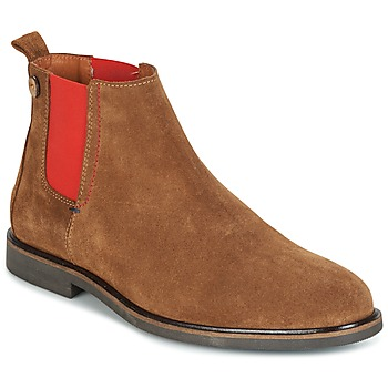 Zapatos Hombre Botas de caña baja Faguo CORK02 Marrón