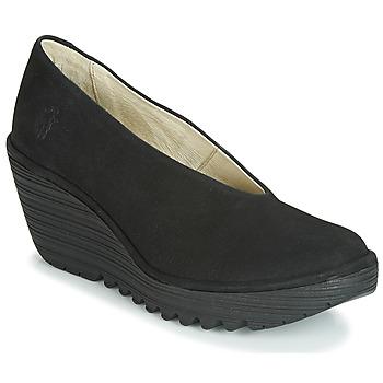 Zapatos Mujer Zapatos de tacón Fly London CUPIDO Negro