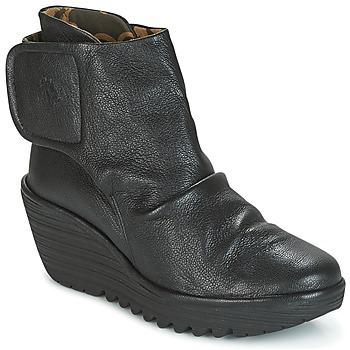 Zapatos Mujer Botines Fly London YOMI Negro