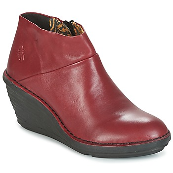 Zapatos Mujer Botas de caña baja Fly London SIPI 671 Rojo