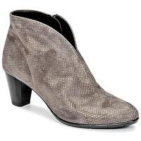 Zapatos Mujer Botines Ara MORTAD Gris / Plateado