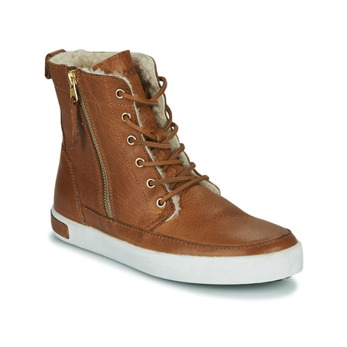 Zapatos Mujer Zapatillas altas Blackstone CW96 Marrón