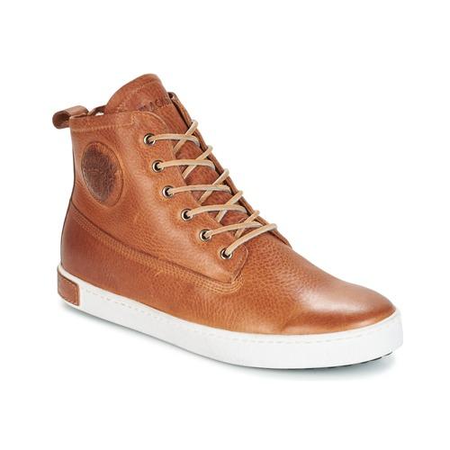 Zapatos Hombre Zapatillas altas Blackstone GM06 Marrón