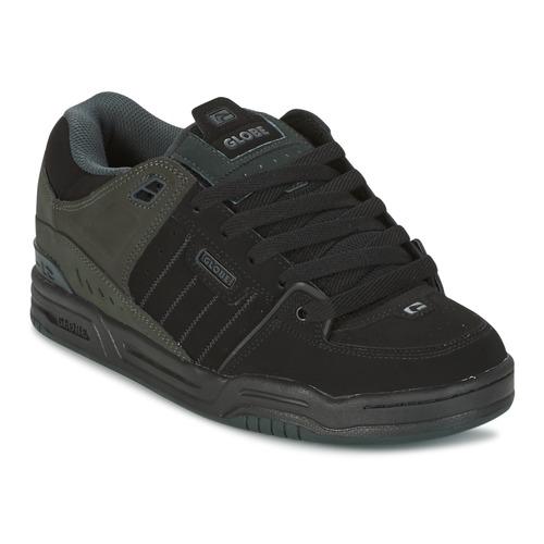 Zapatos especiales para hombres y mujeres Globe FUSION Negro