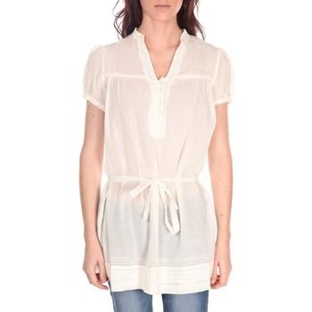 textil Mujer Tops / Blusas Vision De Reve Tunique Claire 7090 Ecrue Beige