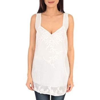 textil Mujer Camisetas sin mangas Vision De Reve vision de rêve débardeur SC9020 blanc Blanco