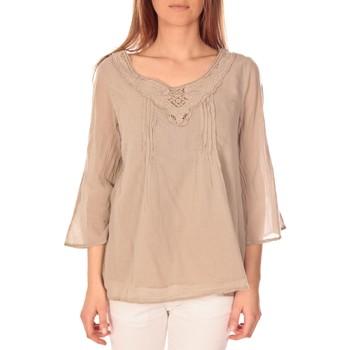 textil Mujer Tops / Blusas Vision De Reve vision de rêve tunique 9005 Taupe Gris
