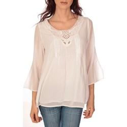 textil Mujer Tops / Blusas Vision De Reve vision de rêve tunique 9005 blanc Blanco