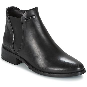 Zapatos Mujer Botas de caña baja Les Tropéziennes par M Belarbi NACRE Negro