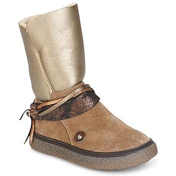 Zapatos Niña Botas urbanas Catimini ROUGEGEORGE Topotea / Cobre