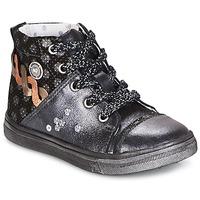 Zapatos Niña Botas de caña baja Catimini ROUSSEROLLE Gris / Plata
