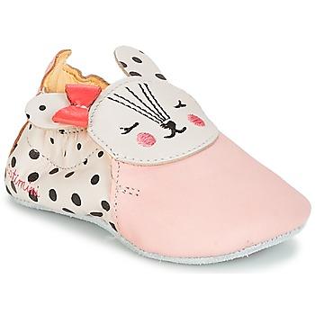 Zapatos Niña Pantuflas Catimini REMOULADE Vte / Rosa / Dpf / Neutro