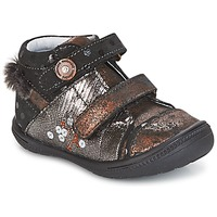 Zapatos Niña Botas de caña baja Catimini ROSSIGNOL Negro / Cobre