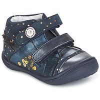 Zapatos Niña Botas de caña baja Catimini ROSSIGNOL Vtc / Marino - lunares / Dorado / Dpf / 2822
