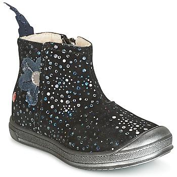 Zapatos Niña Botas de caña baja GBB ROMANE Negro