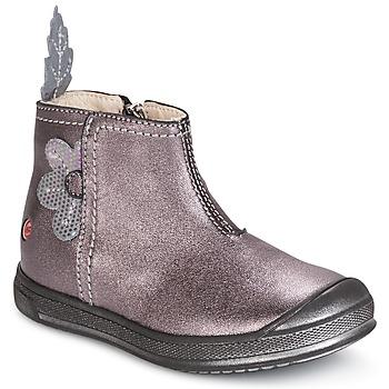 Zapatos Niña Botas de caña baja GBB ROMANE Madera / De / Rosa