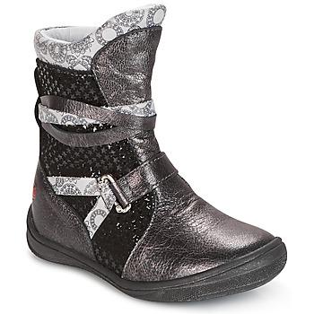 Zapatos Niña Botas de caña baja GBB ROSANA Gris