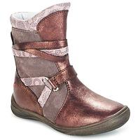 Zapatos Niña Botas de caña baja GBB ROSANA Rosa / Burdeo