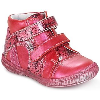 Zapatos Niña Botas de caña baja GBB ROXANE Frambuesa