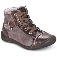 Zapatos Niña Botas de caña baja GBB ROMIE Rosa / Burdeo