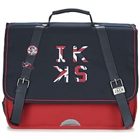 Bolsos Niño Cartable Ikks UNION JACK CARTABLE 38CM Marino / Rojo