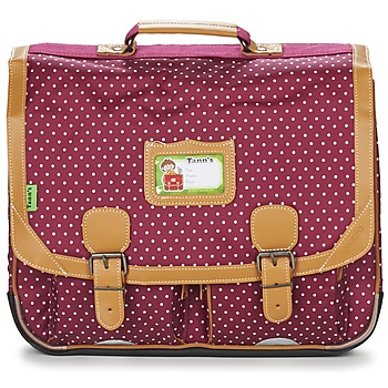 Bolsos Niña Cartable Tann's LES CHICS FILLES CARTABLE 41CM Burdeo