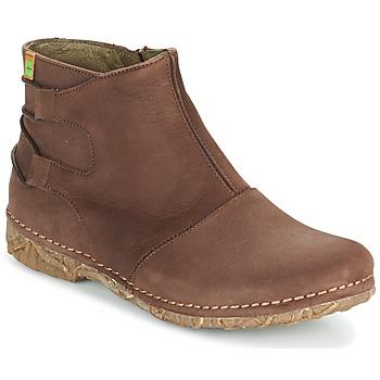 Zapatos Mujer Botas de caña baja El Naturalista ANGKOR Marrón