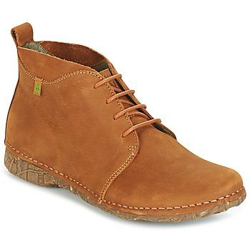 Zapatos Mujer Botas de caña baja El Naturalista ANGKOR Camel