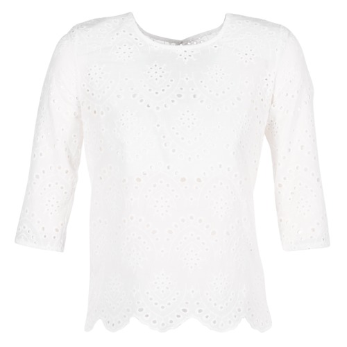 textil Mujer Tops / Blusas Betty London GRIZ Blanco