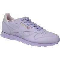 Zapatos Niños Deportivas Moda Reebok Sport Classic Leather BD5543 Violet