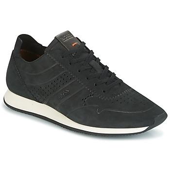 Zapatos Hombre Zapatillas bajas Hugo Boss Orange ADRENAL RUNN Negro
