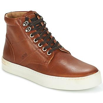 Zapatos Hombre Zapatillas altas Hugo Boss Orange NOIR HALB LTWS Cognac