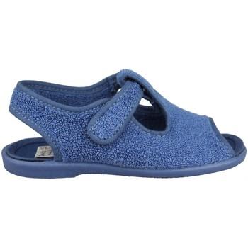 Zapatos Niños Pantuflas para bebé Vulladi TOALLA AZAFATA ÑAK VELCRO AZUL