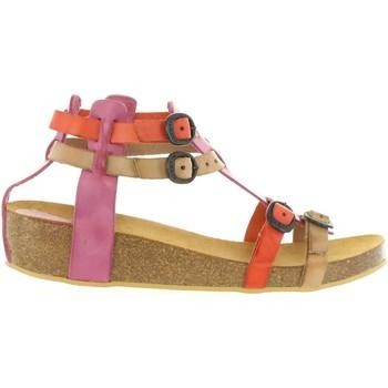 Zapatos Niña Sandalias Kickers 420390-30 BOMDIA Rosa