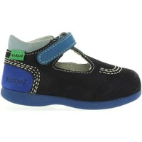 Zapatos Niños Derbie & Richelieu Kickers 413122-10 BABYFRESH Azul