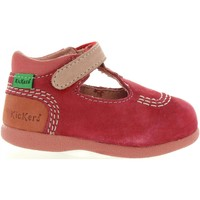 Zapatos Niños Derbie & Richelieu Kickers 413122-10 BABYFRESH Rojo