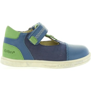 Zapatos Niños Zapatos bajos Kickers 413551-10 TROPICO Azul