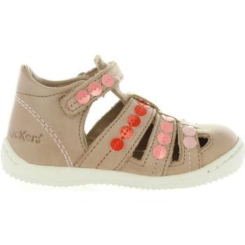 Zapatos Niña Sandalias Kickers 469680-10 GIFT Beige