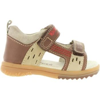 Zapatos Niño Sandalias Kickers 414741-10 PLAZABI Marrón