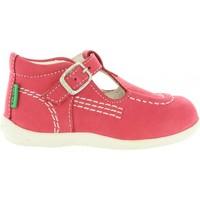 Zapatos Niño Zapatos bajos Kickers 417803-10 BONISTA Rojo